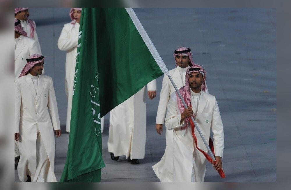 Saudi Araabia delegatsioon Pekingi olümpial