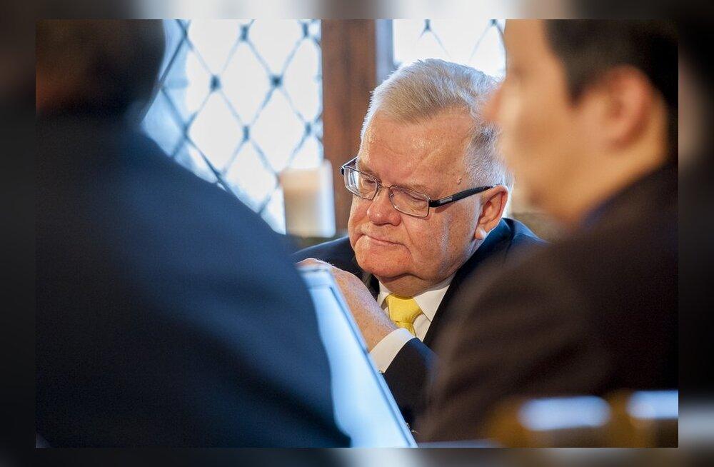 FOTOD: Savisaar enda ja Kofkini kaebust prokuratuuri vastu ei kommenteerinud.