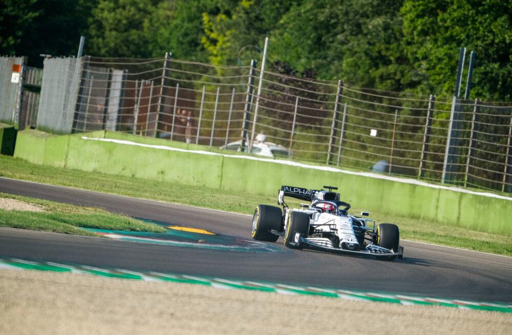Imola ringrajal sõidetakse vaid üks F1 vabatreening