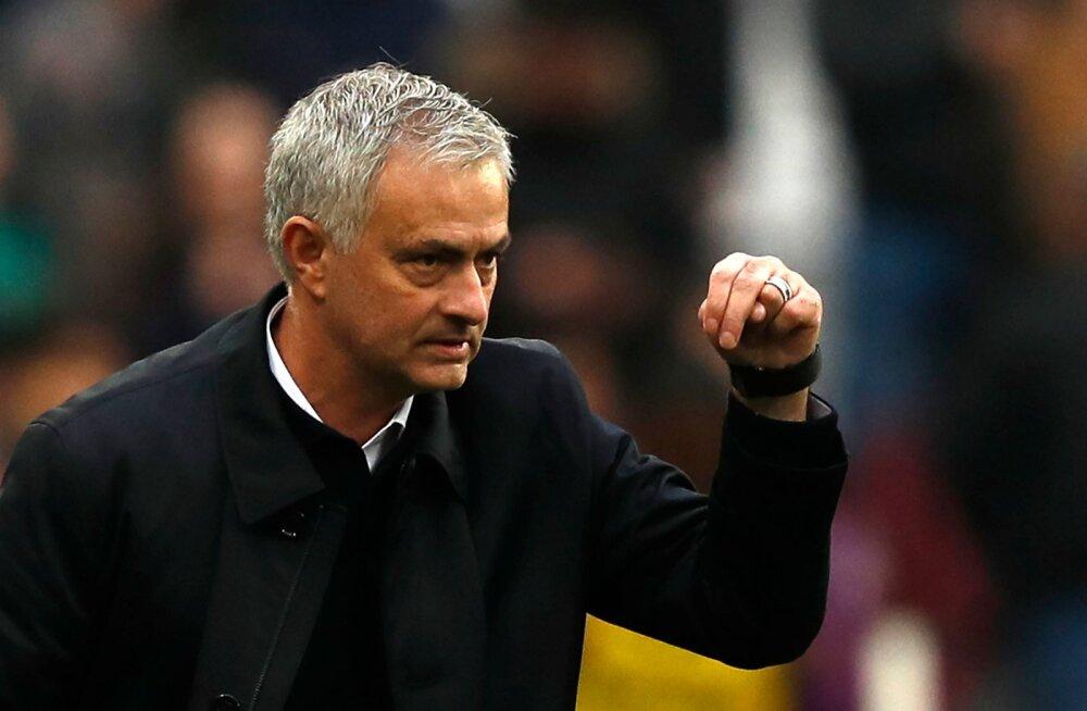 Ümbersünd: Mourinho debüütmäng tõi Tottenhamile magusa võidu