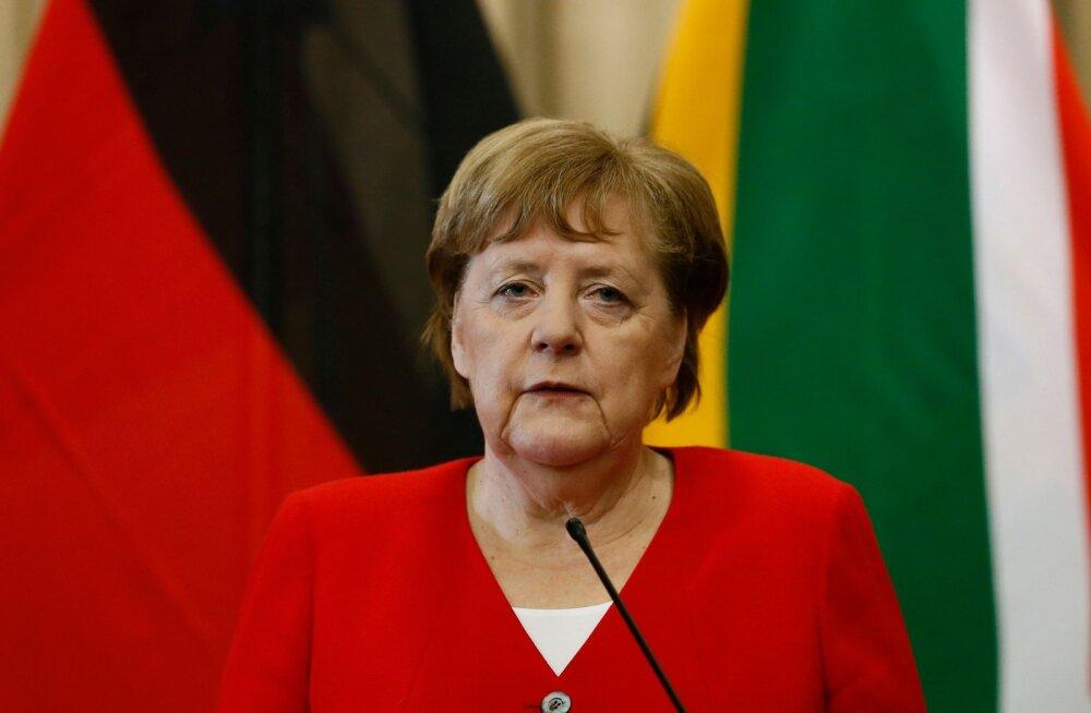 Merkel: Tüüringi peaministri ametisse valimine AfD toetusel on andestamatu ja tulemus tuleb ümber pöörata