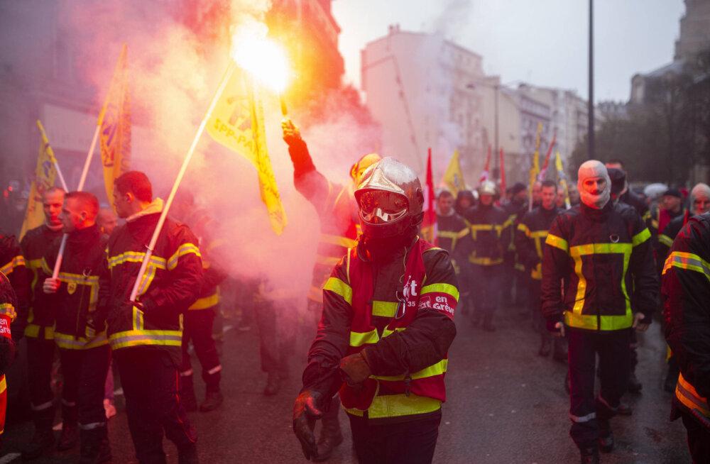 Juhtiv Prantsuse ametiühing lükkas kompromissi tagasi: streik ei paista lõppevat
