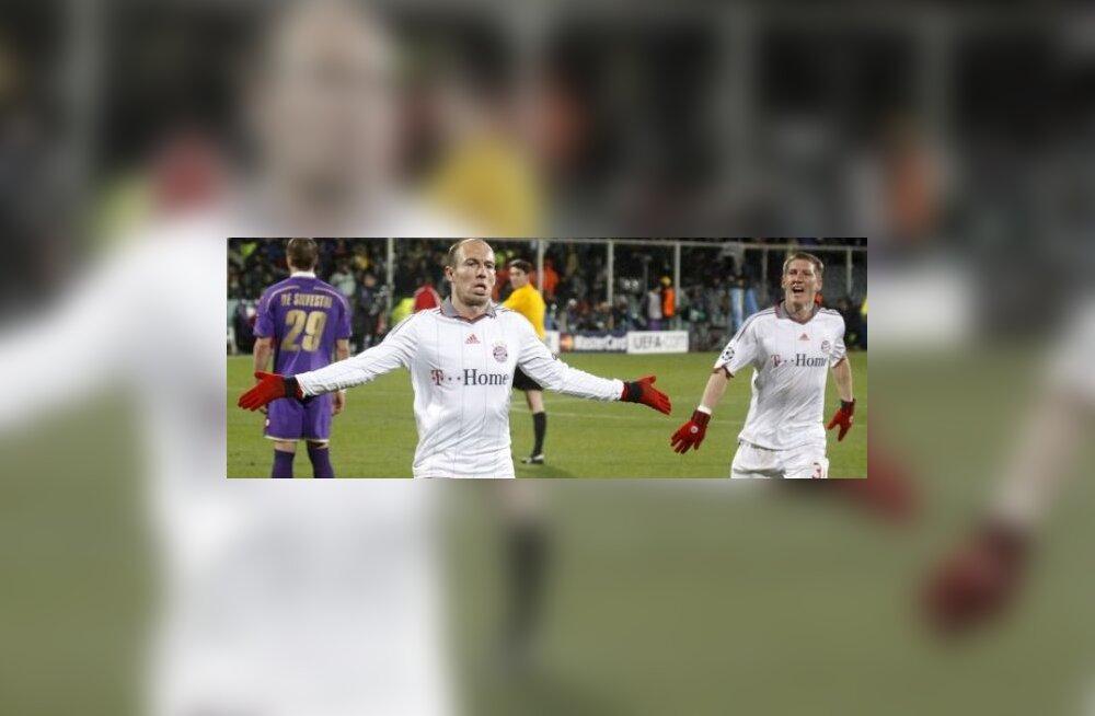 Arjen Robben, Müncheni Bayern, jalgpall