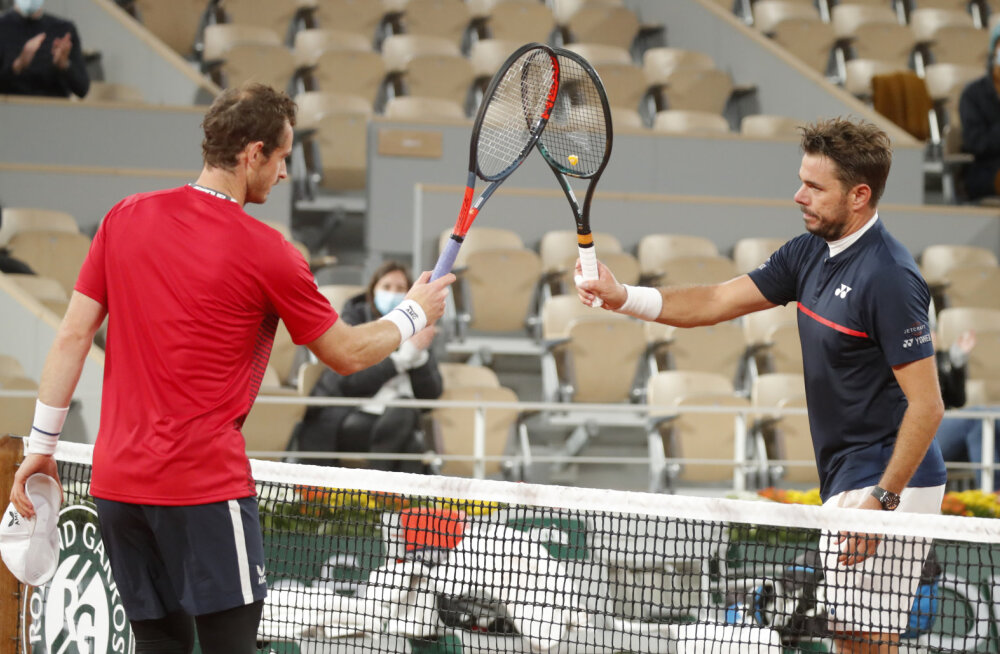 Andy Murray ja Stan Wawrinka