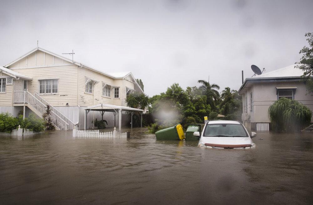 Austraalia ägab ühel ajal nii põua kui suurte üleujutuste all