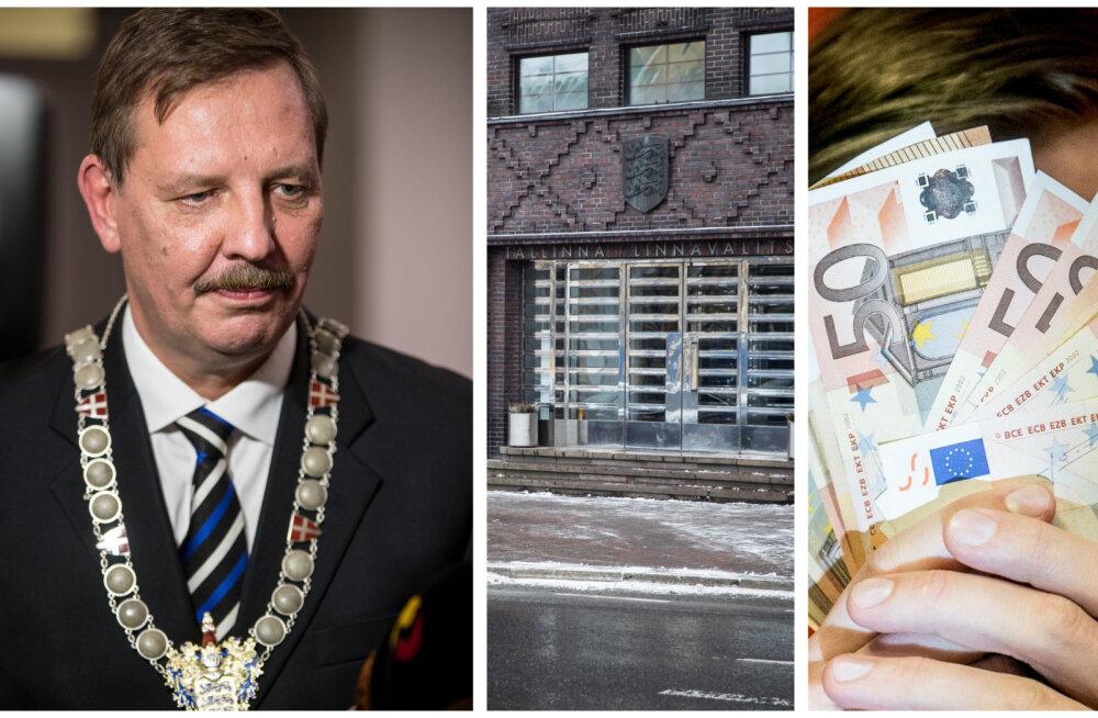Kümned tuhanded eurod hüvitisi omal soovil lahkuvatele töötajatele ja umbusaldatud poliitikutele: Tallinn on ilmselt riigi üks heldemaid tööandjaid