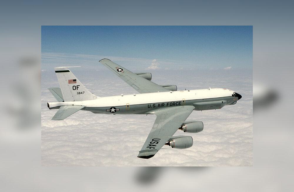 Hävitajate F-35 tulekut valvas Eestis USA üliharuldane luurelennuk