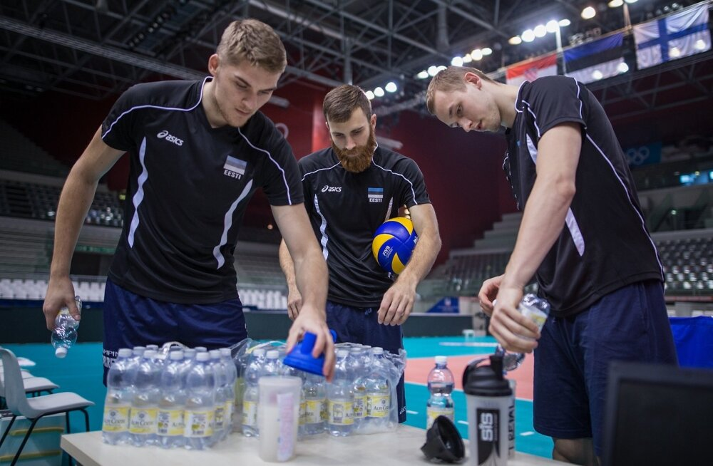 Eesti võrkpallikoondise treening