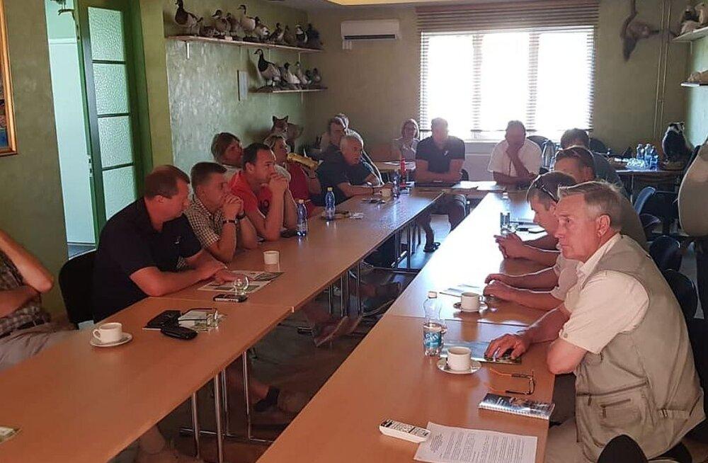 Eesti Jahimeeste Selts alustas veelinnujahi alaste koolitustega