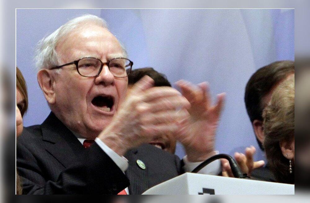 Ühe mehe aasta: 83-aastane USA ärihiid teenis 22 820 dollarit minutis