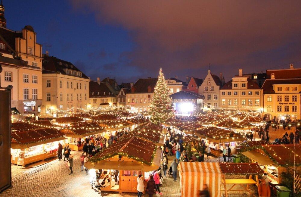 ФОТО: Крупнейшее мировое издание признало рождественский рынок в Таллинне одним из самых лучших в Европе