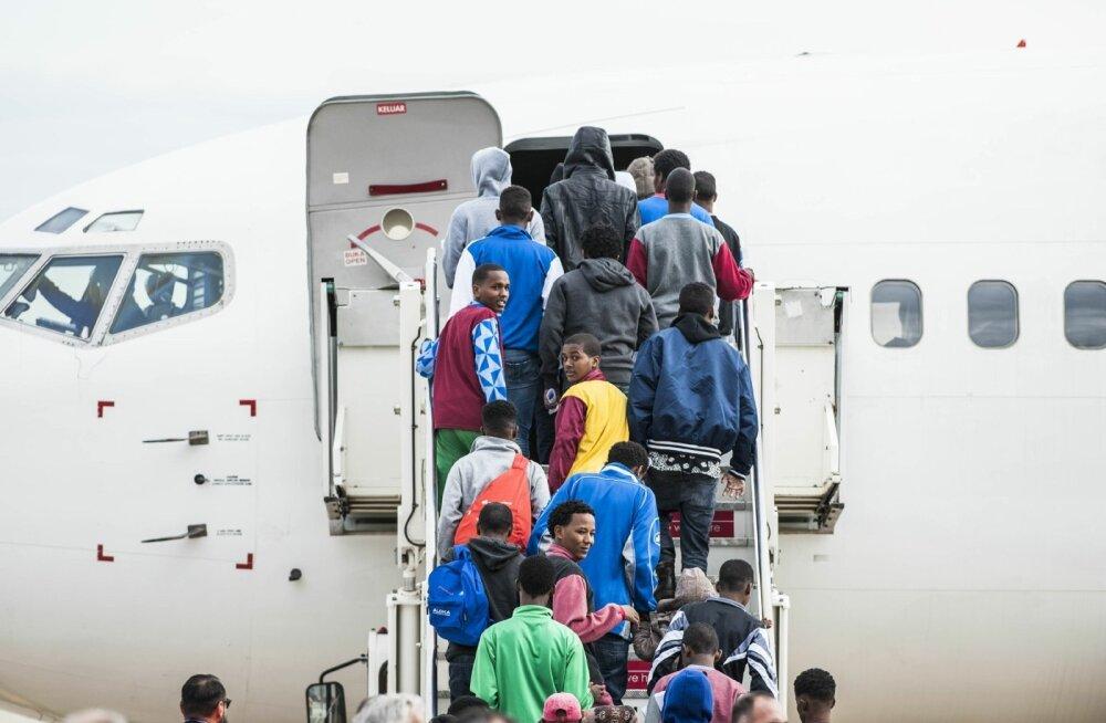Soomest on vabatahtlikult lahkunud ligi 3000 varjupaigataotlejat