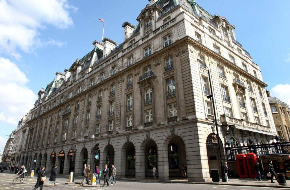 Ritz hotell Londonis