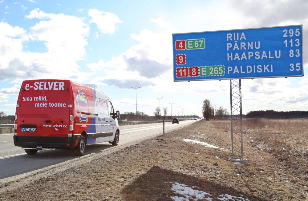 Selver laienes Pärnusse