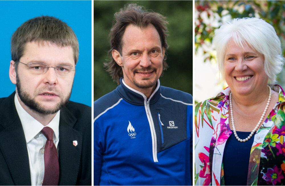 Delfi lugejad tahavad sotside uueks juhiks Marina Kaljuranda, Indrek Saar jääb Jevgeni Ossinovskile alla