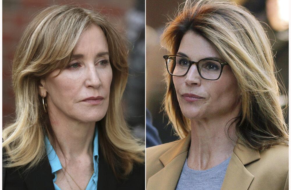 Lori Loughlini ja Felicity Huffmani ähvardab kuudepikkune vangistus