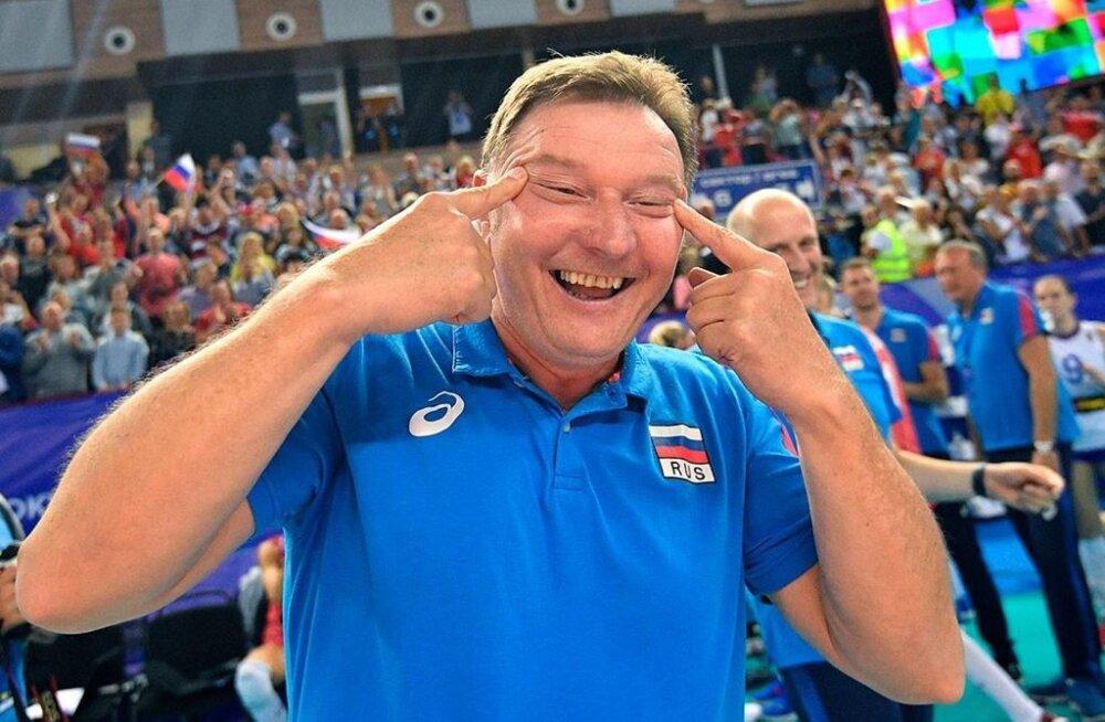 Venemaa võrkpallikoondise abitreener sattus rassismiskandaali