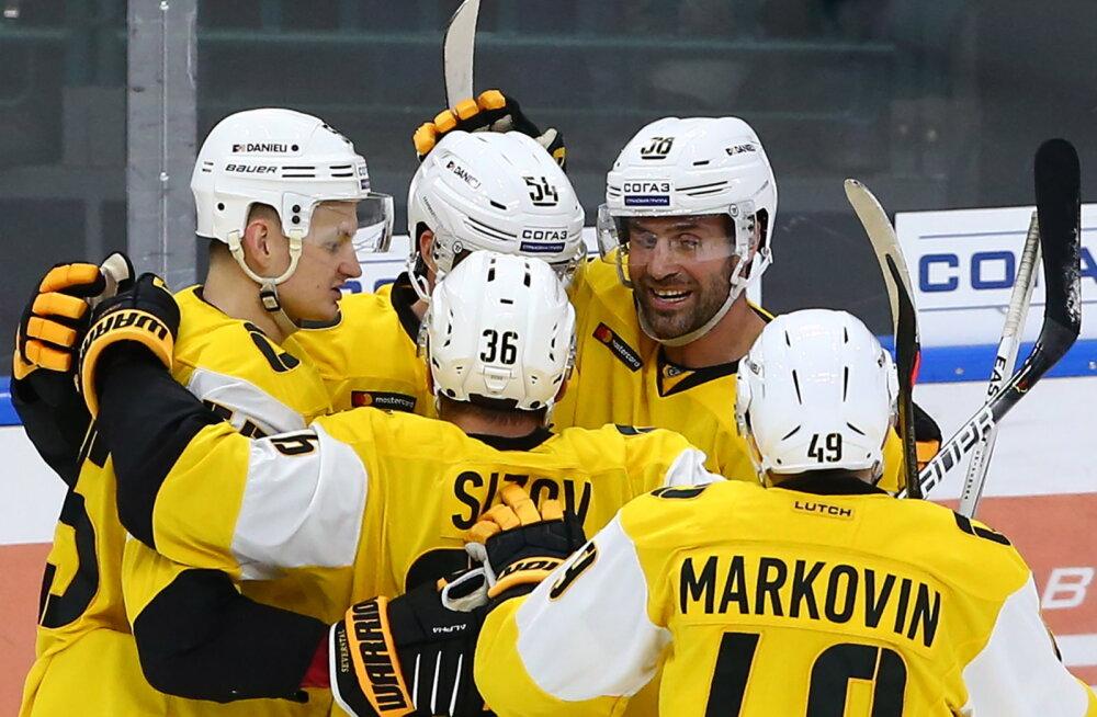 Tallinnasse tulev Tšerepovetsi Severstal alistas tugeva Vladivostoki meeskonna
