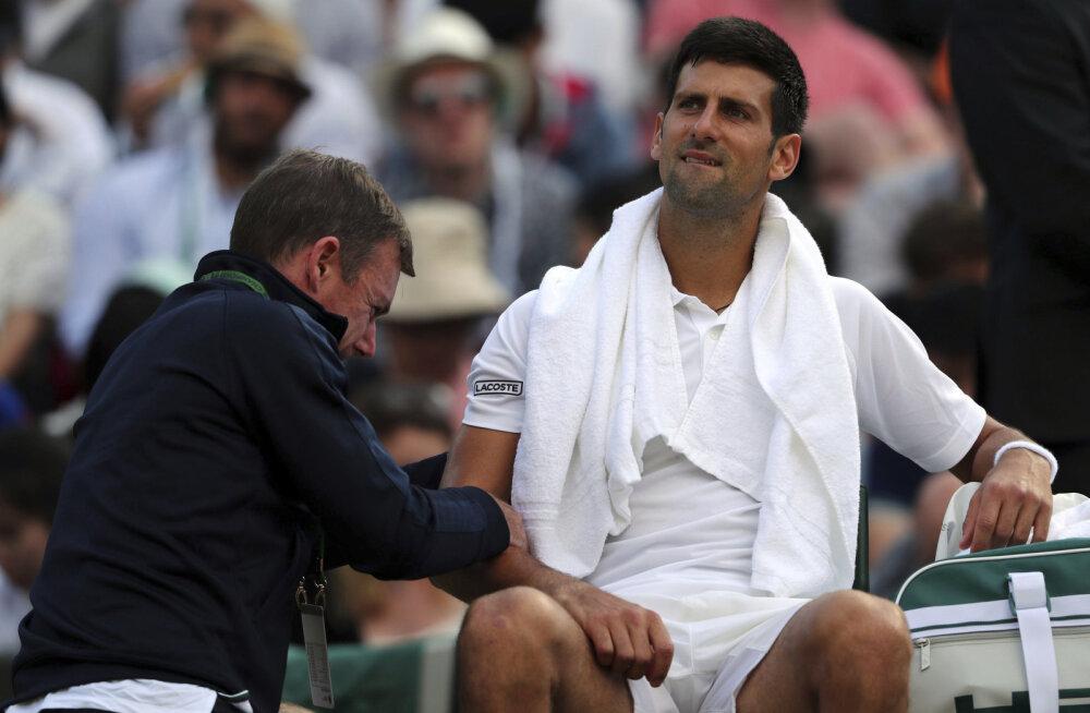 Endine tennisist kahtlustab, et Novak Djokovic on dopinguga vahele jäänud