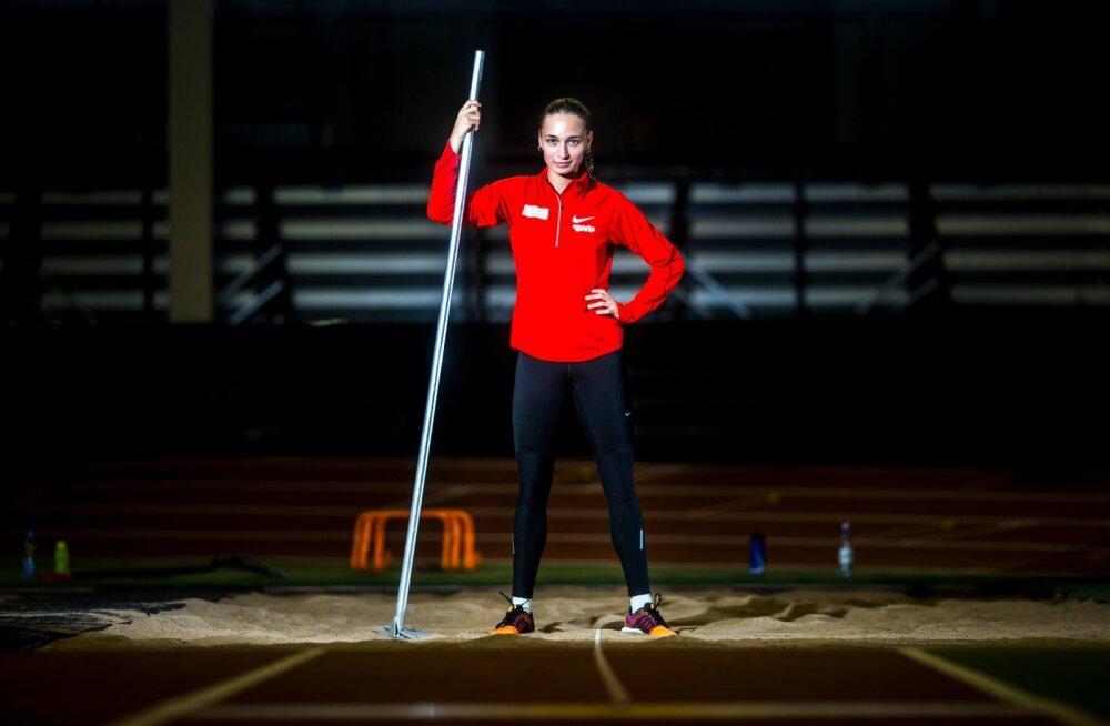 Ksenija Balta on üle pika aja suurel areenil valgussõõris. Ettevalmistus läks hästi, ta on võistluseks valmis.