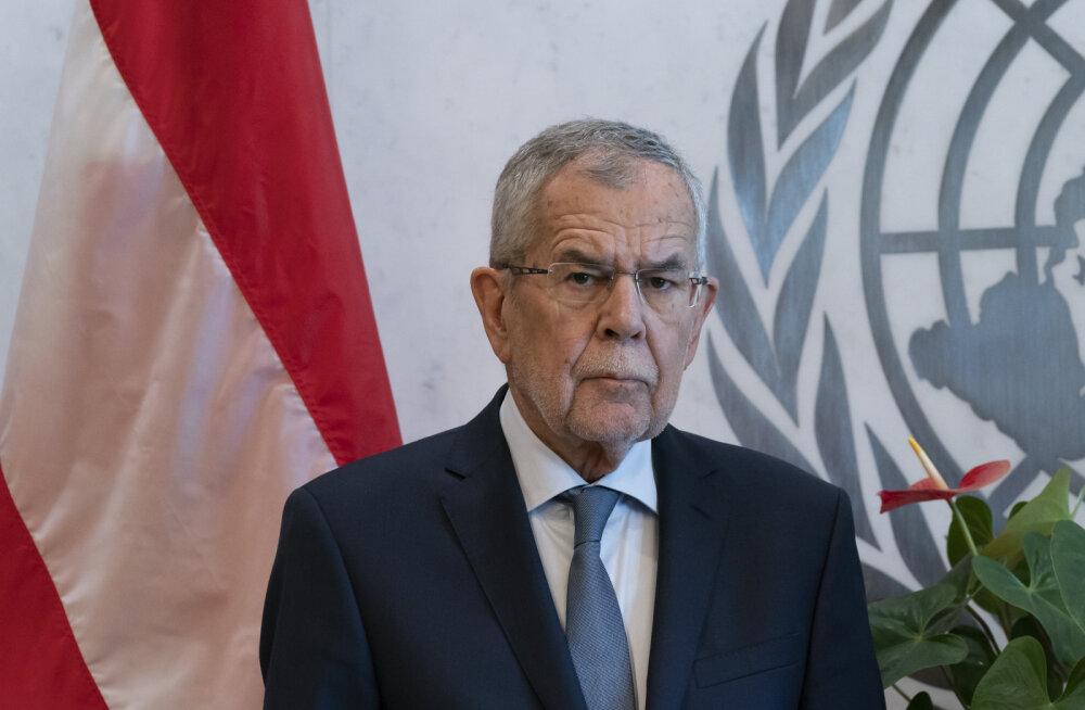 """Austria president kommenteeris """"identitaaride"""" unistust etniliselt puhtast riigist viidates oma osalisele eesti päritolule"""
