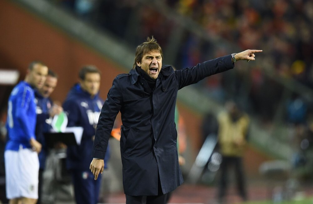 14 päeva jalgpalli EM-ini: Conte loodab väärikalt Chelseasse lahkuda