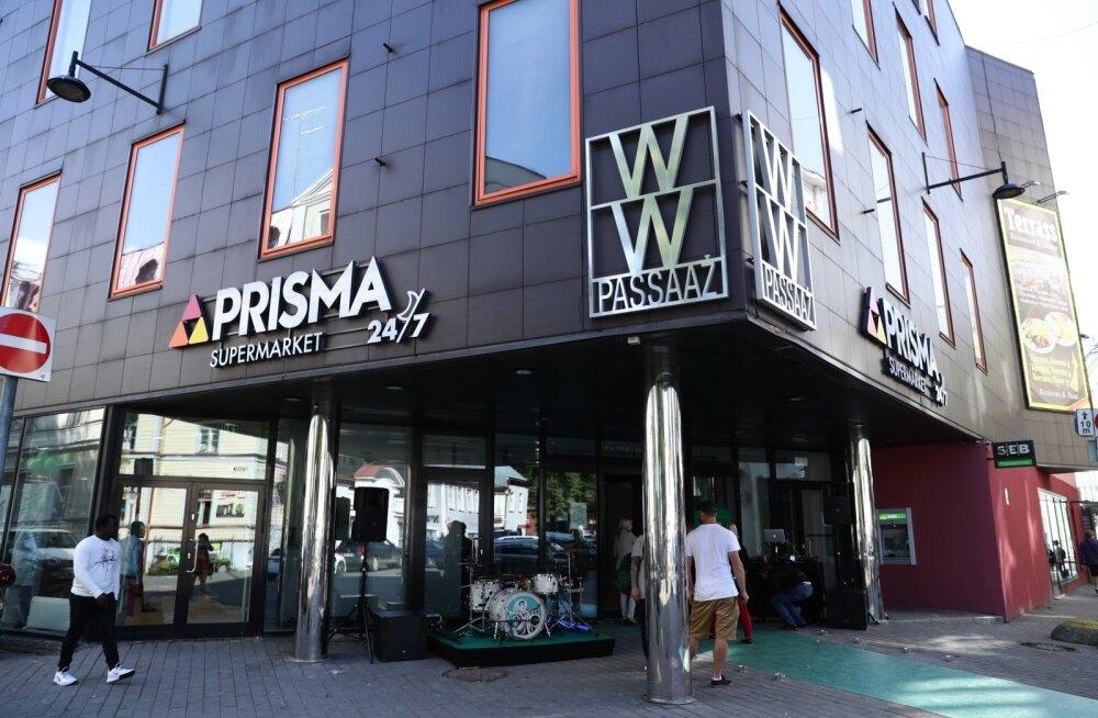 Prisma supermarketi avamine Vanalinnas