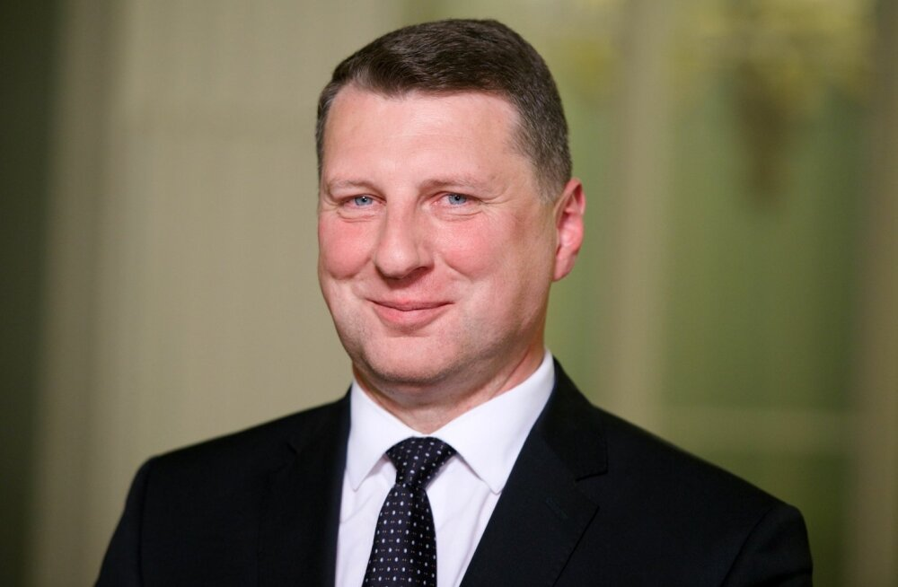 Läti president Vējonis saatis Ilvesele ja Kupcele tervituse rahva ja iseenda nimel