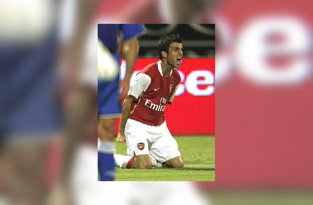 Cesc Fabregas on löönud Arsenali eest värava