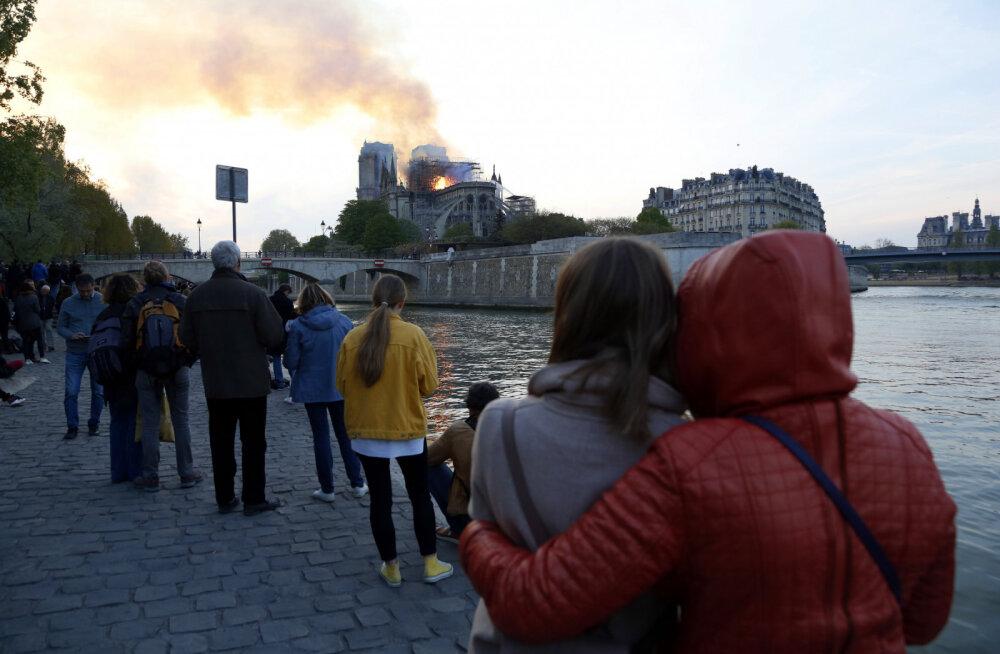 Eestlane Prantsusmaal: tulekahju on siiani kohutav šokk, see jätab tühja koha, millest täielikult üle ei saagi