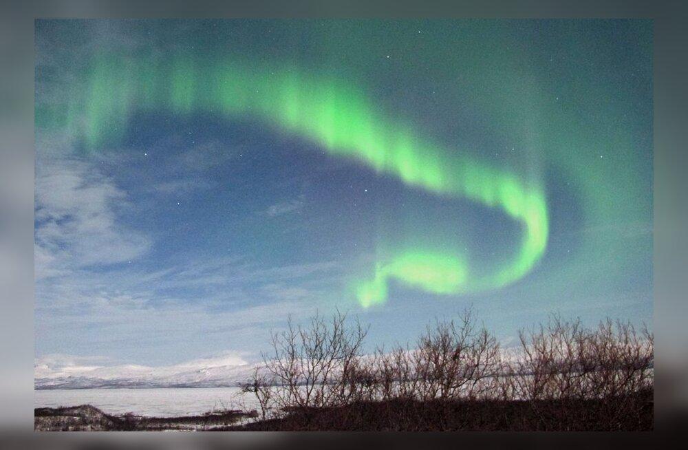 """VIDEO: Soome teadlastel õnnestus virmaliste """"laulu"""" lindistada"""