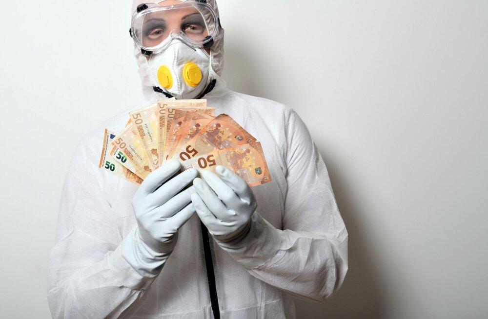 Kindlustusfirma pakub kaitset koroonaviirusesse haigestumisel tekkivate kahjude vastu
