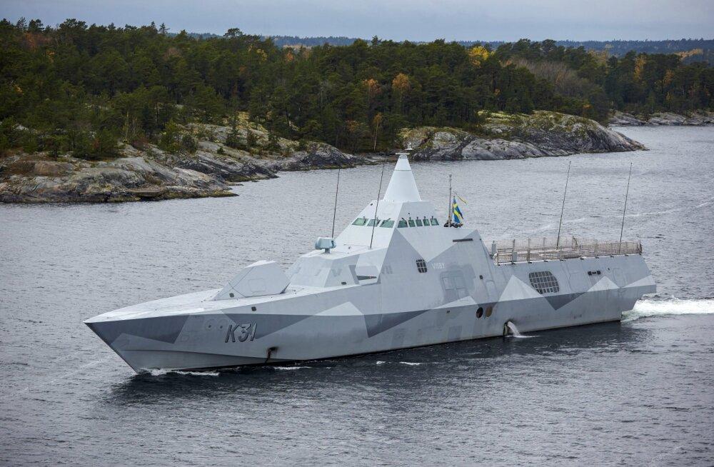 Rootsi merevägi naaseb külma sõja aegsesse tuumakindlasse baasi kalju sees