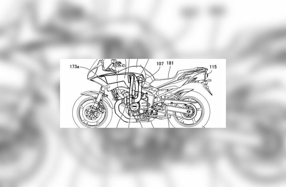 Yamaha pistab varba diiselmotikate tiiki