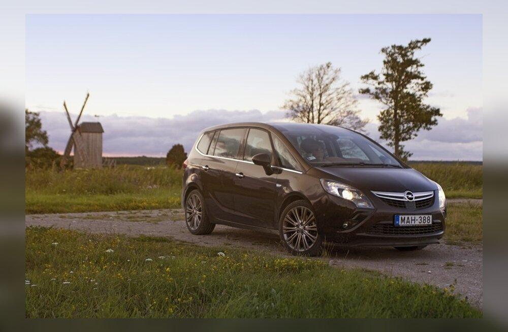 Длительный тест-драйв Opel Zafira Tourer: первая неделя