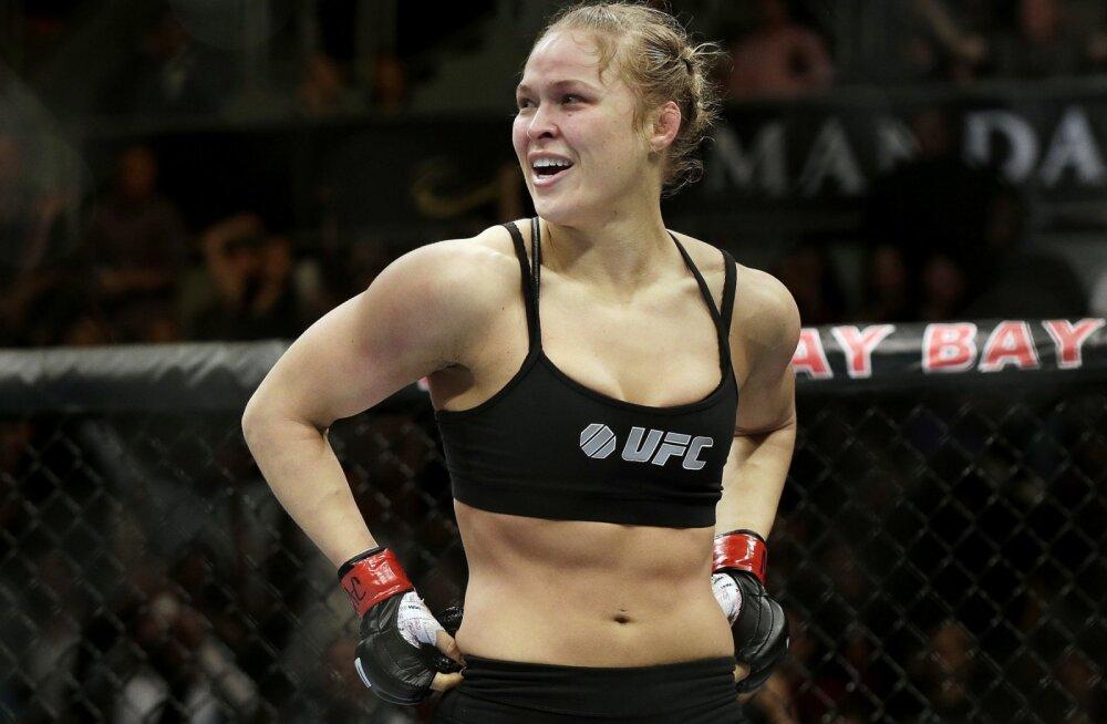 Endine MMA-kuninganna Ronda Rousey on tagasi, aga hoopis uuel alal