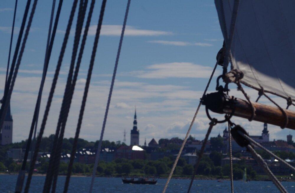 Таллиннские дни моря: в субботу и воскресенье между Пассажирским портом и Какумяэской гаванью будет курсировать автобус