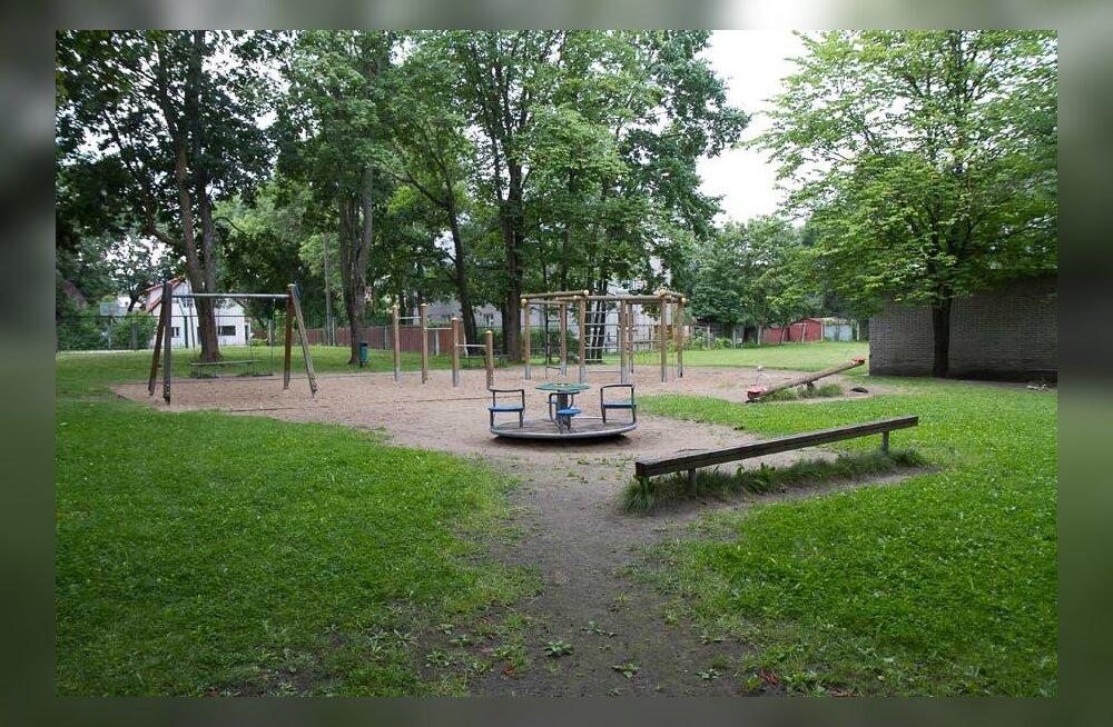 Письмо читателя: для кого детская площадка у молодежного центра в Копли?