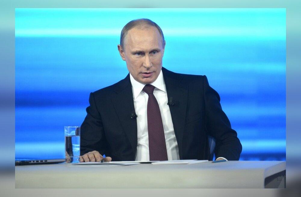 Putin: mul on jätkuvalt õigus Ukrainas relvajõudu kasutada, kuid loodetavasti pole seda vaja