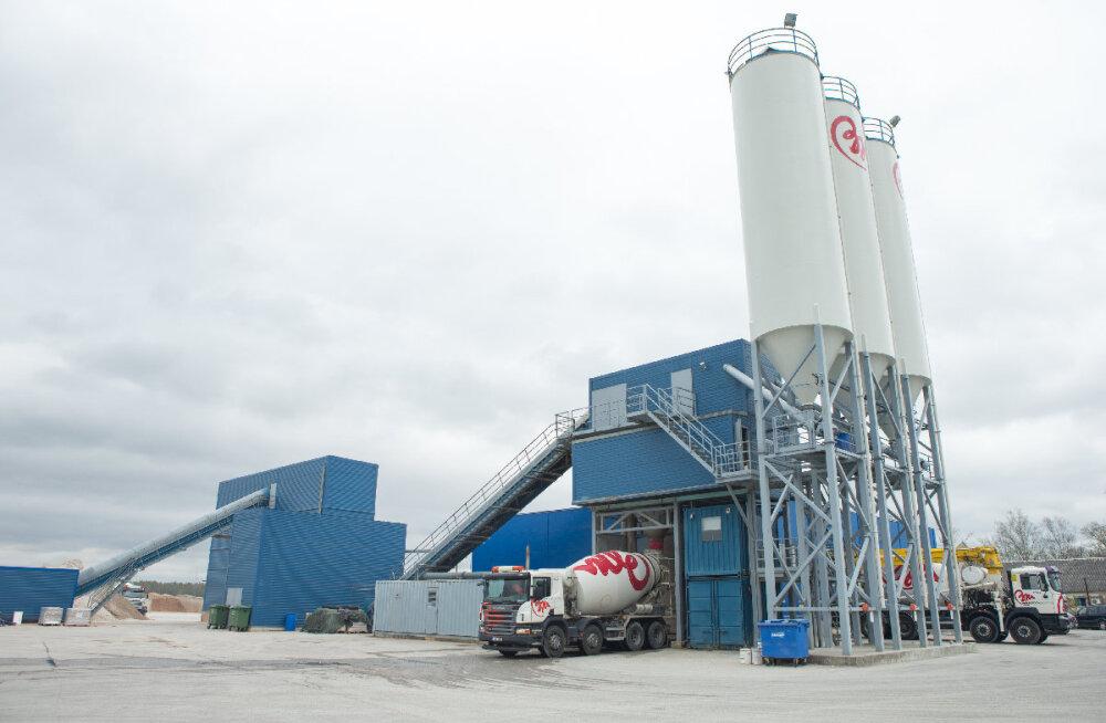 Taasavati Betoonimeistri Tartu Vahi tehas. Ettevõte taaskasutab betoonijääke