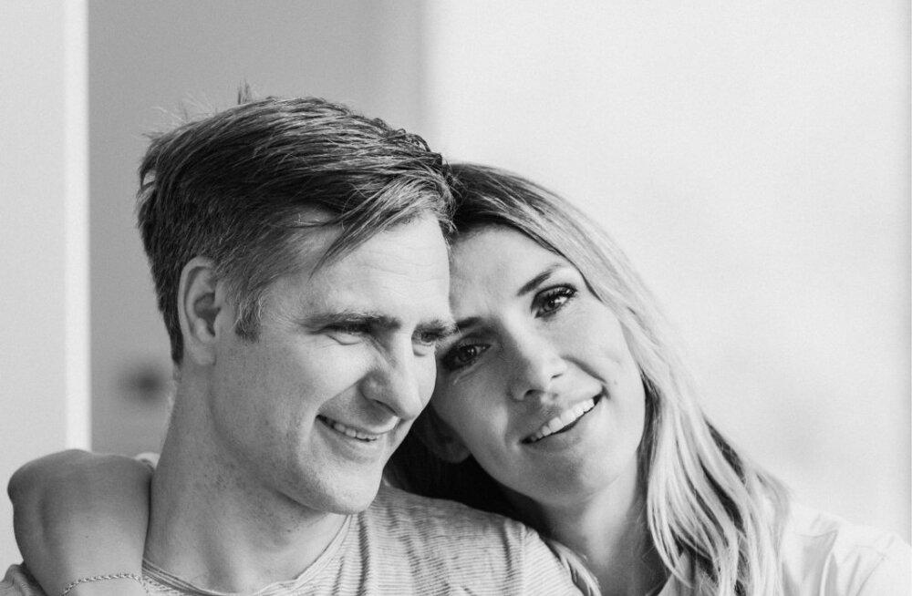 Tomi ja tema abikaasa Anni Rahula.