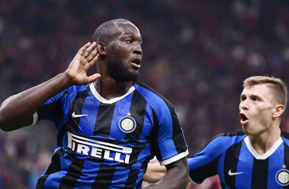 Inter võitis Milano derbi ning püsib Serie A-s täiseduga