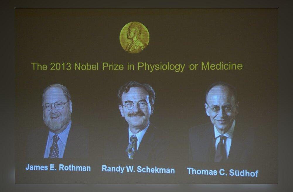 Nobeli meditsiinipreemia teeniti uurimustööga, kuidas rakud aineid edasi kannavad