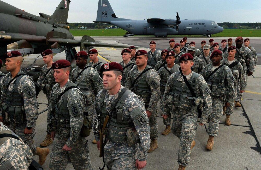 USA plaanib saata Poolasse veel tuhat sõjaväelast