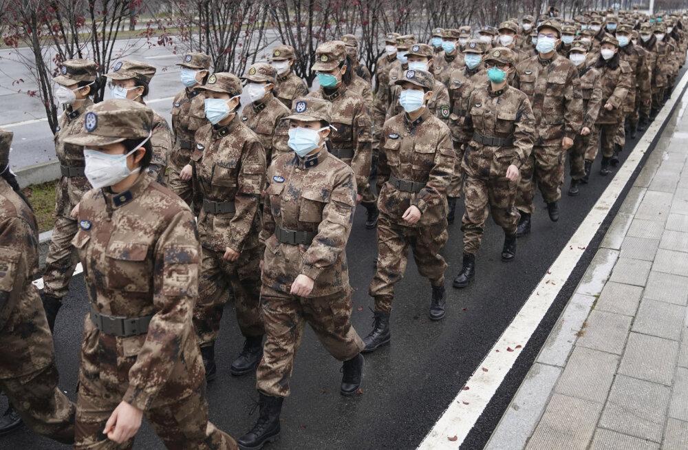 Koroonaviiruse ohvrite arv Hiinas tõusis 80-ni, pikendati pühi