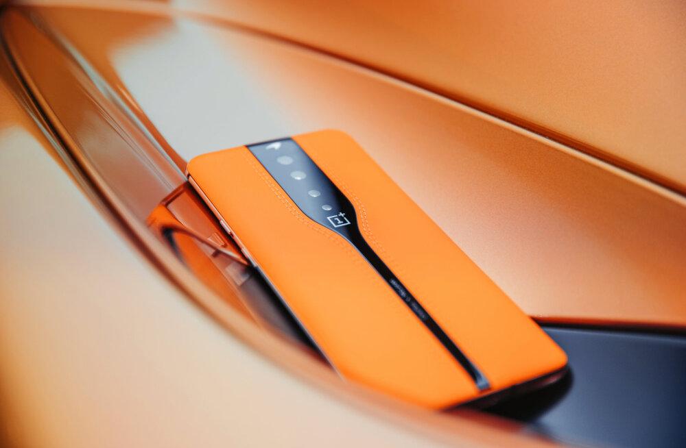 FOTOD   See on maailma esimene nn nähtamatu kaameraga nutitelefon