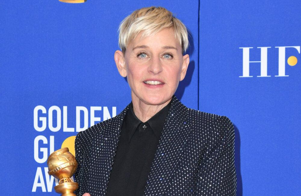 Ellen DeGeneres otsustas oma töötajate ees vabandada: mul on kahju, et asjad on nii läinud