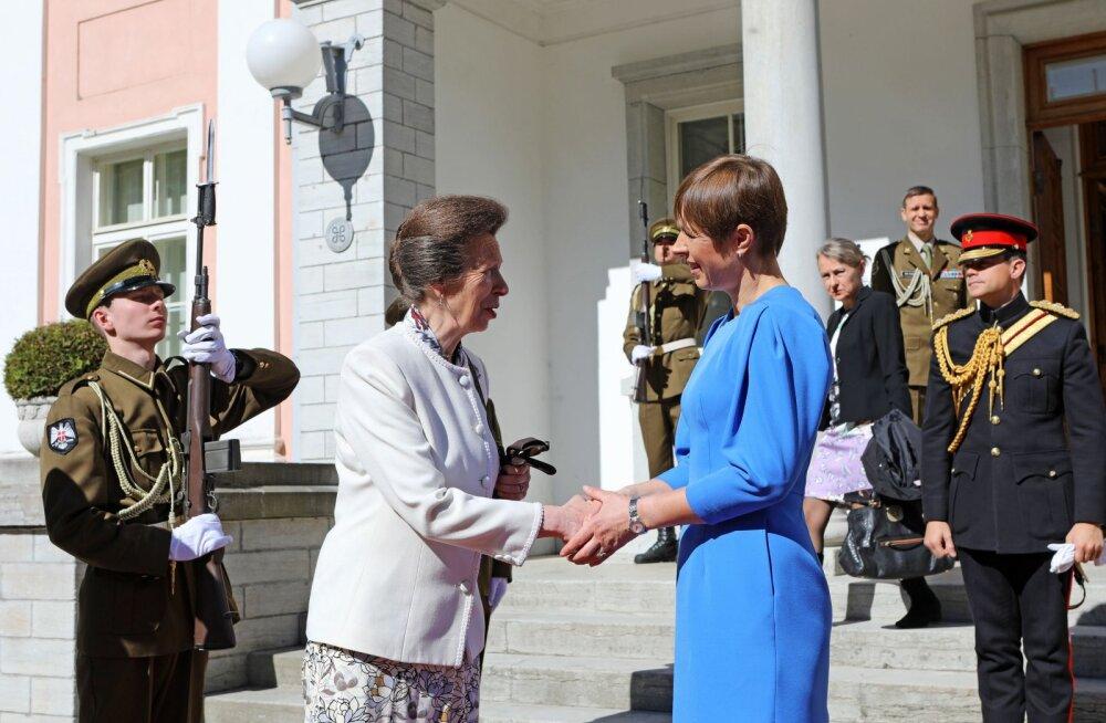 FOTO   President Kaljulaid kohtus Kadrioru lossis Briti printsessiga