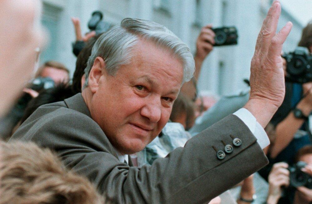 Boriss Jeltsin 1991. aastal