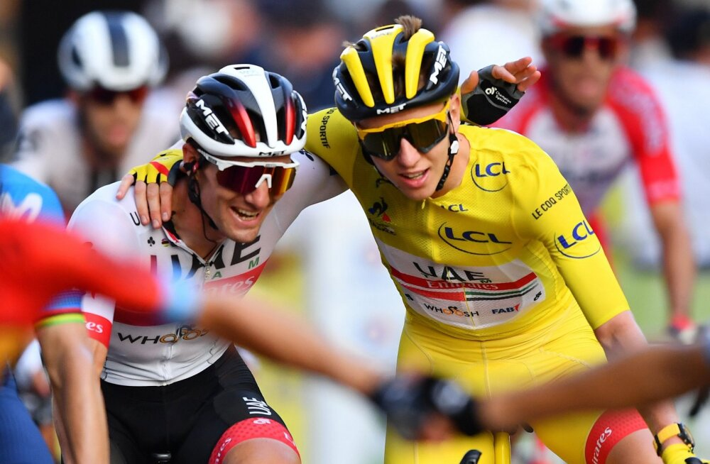 Viimase 116 aasta noorim tšempion: sloveen Tadej Pogacar vormistas Tour de France'i üldvõidu